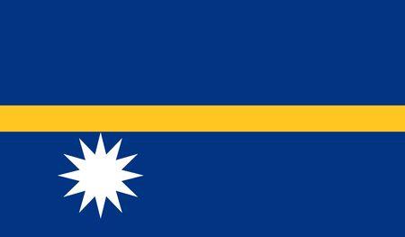 nauru: Nauru Flag
