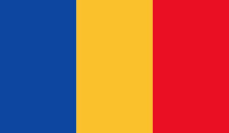 all european flags: Romania flag