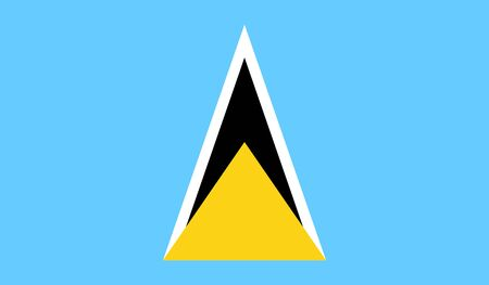 lucia: Saint Lucia Flag