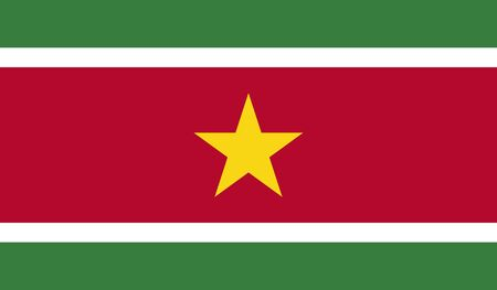 suriname: Suriname Flag Illustration