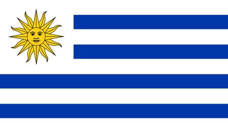 bandera uruguay: Bandera de Uruguay Vectores