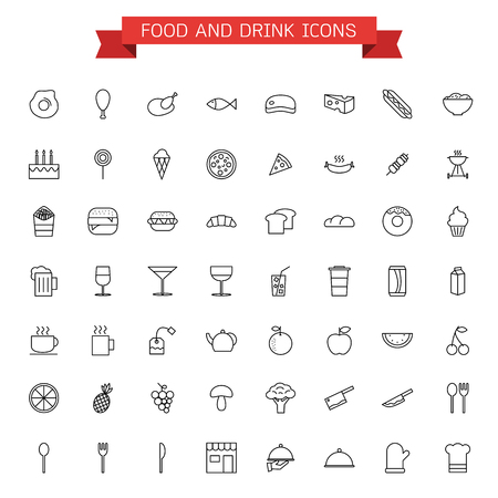 rice wine: food and drink icons