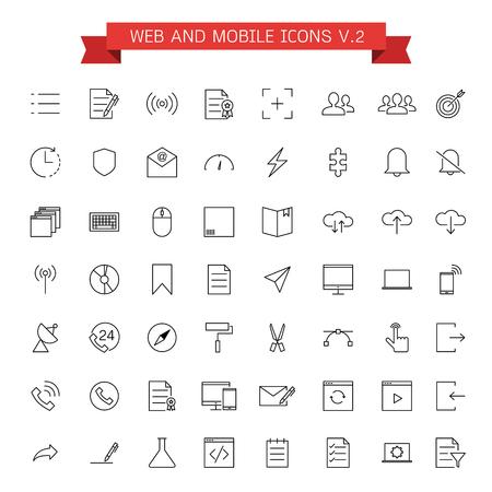 Web- und Mobile-Icons