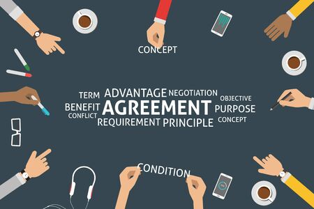 requirement: vector agreement concept,template