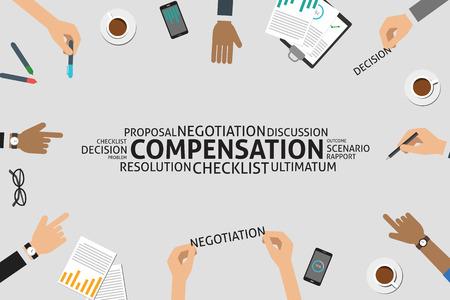 ultimatum: vector compensation concept,template