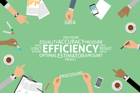 optimal: vector efficiency concept,template