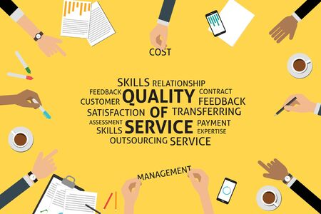 vector quality of service concept,template