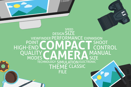 expansion: vector compact camera concept,template