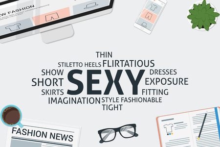 vector sexy concept,template