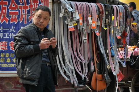 traders: small traders at street Editorial