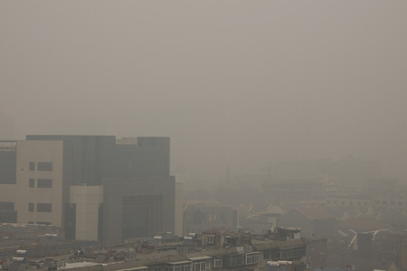 the severe smog in North China Editorial