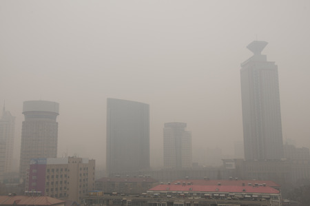 smog:  the severe smog in North China