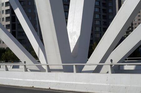 progressive: Progressive bridge in Tianjin Stock Photo