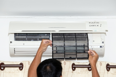 replacements: Checking air condition filter