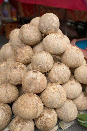 Coconut for  celebration to worship.  photo
