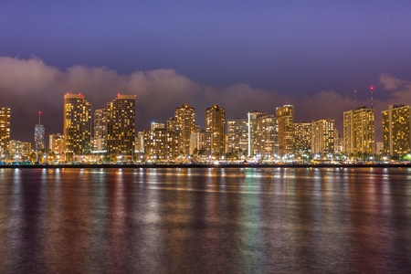 Cityscape Honolulu Hawaii photo