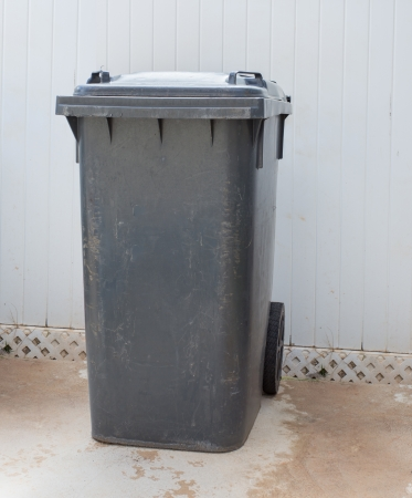 Grijze vuilnisbak, afvalbak