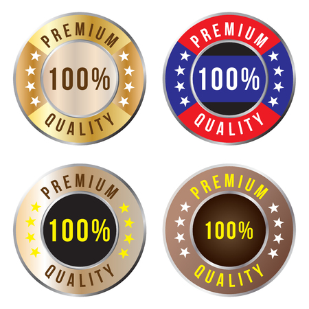 premium quality: Premium quality badge, vector format Illustration