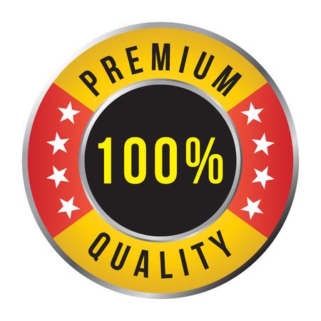 Premium quality badge, vector format Stock Vector - 22439945