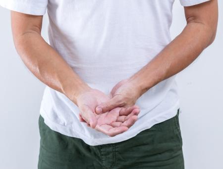 cut wrist: Hand bent