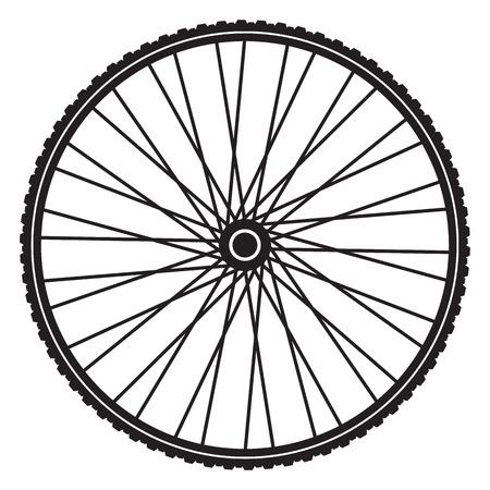 Roue de bicyclette, format vectoriel Banque d'images - 23709081