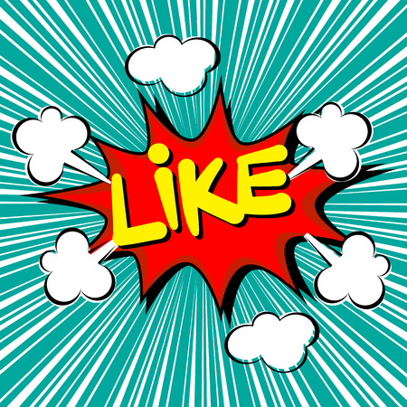 Like with radial speed. comic speech bubble Vector