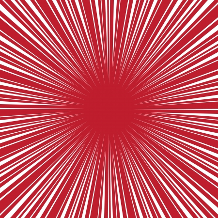 аниме: Радиальная скорость на красный, пузырь комикс речи, векторном формате