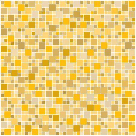 Nahtlose gelb quadratischen Fliesen Muster
