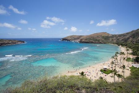 honolulu: Hanauma bay Honolulu Hawaii Stock Photo