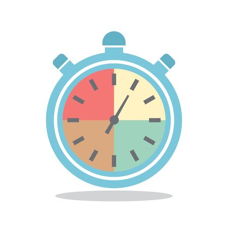 stop watch: Stop watch flat icon design