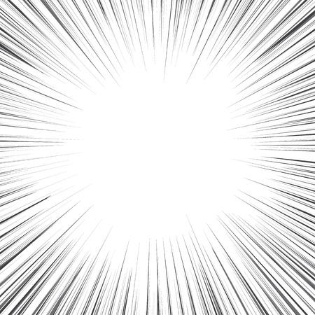 Radial speed, bubble comic speech, vector format