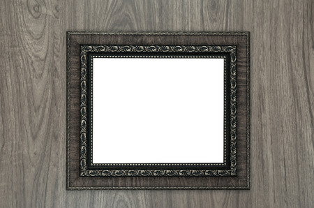 old frame: Vintage photo frame with retro color effect
