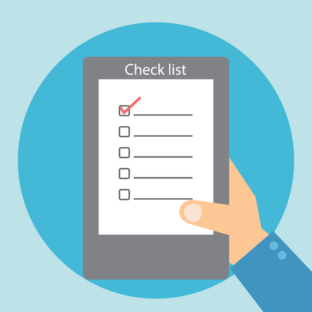 background check: Check list table