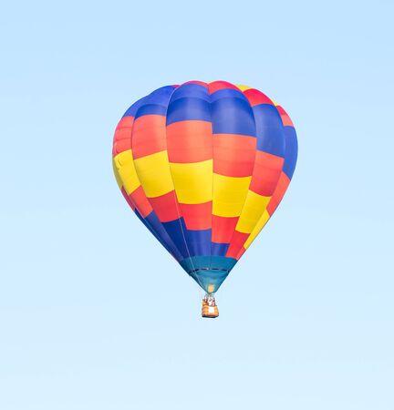 blimp: Colorful hot air balloon Stock Photo