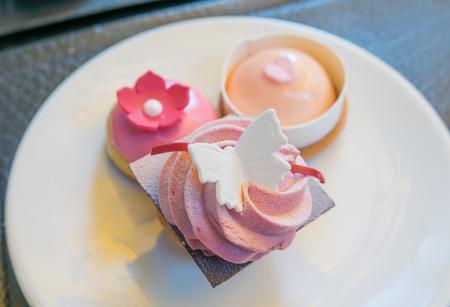 small cake: Small cake Stock Photo