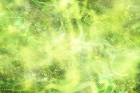 green yellow abstract background