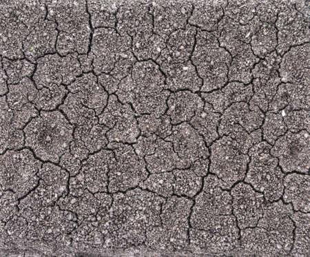 perpendicular: natura sfondo cracking fondo grigio, con crepacci, vista perpendicolare top