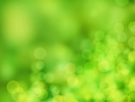 green abstract background circle lights bokeh