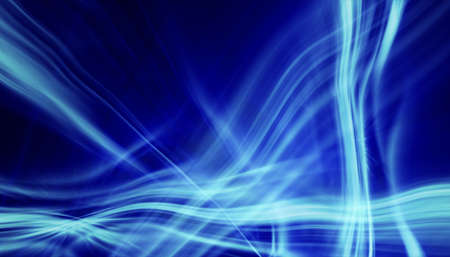 soft blue light lines background photo
