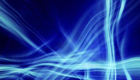 soft blue light lines background photo