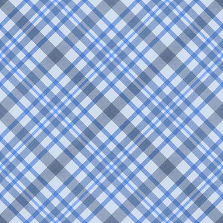 blue checked fabric seamless pattern  computer generated abstract background photo