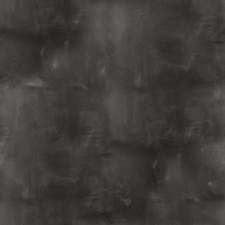 seamless texture empty black chalkboard with chalk traces Stockfoto