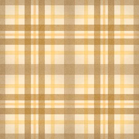 geel bruin geruite stof naadloze patroon van computer gegenereerde abstracte achtergrond