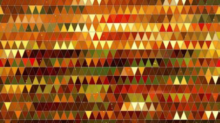 pixelation: colorful triangles pattern. computer generated abstract background Stock Photo