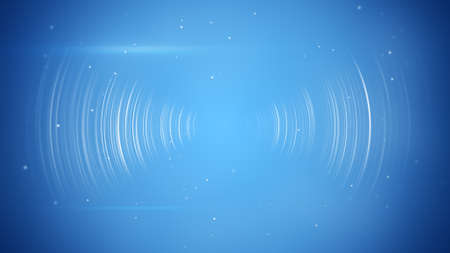 wireless transition. Computer generated abstract technology background Stock Photo