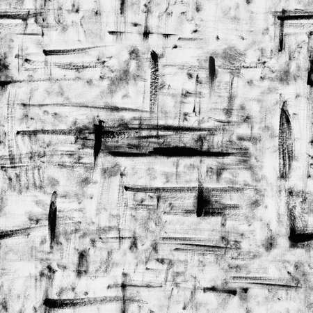 grunge strokes seamless pattern