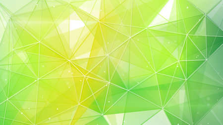 abstract spring geometrical background Banque d'images