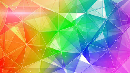 colorfu: abstract colorful web background