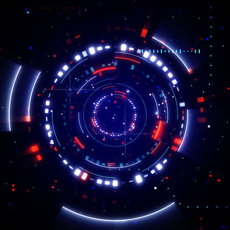 abstract futuristic technology background 스톡 콘텐츠