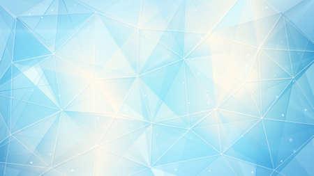 lichtblauw web. computer gegenereerde abstract geometrische achtergrond